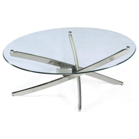 Zila Oval Coffee Table, Occasional Tables, Magnussen Home - Adams Furniture