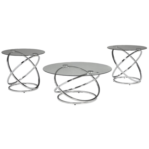 Hollynyx 3pc Occasional Table Set, Occasional Tables, Ashley Furniture - Adams Furniture