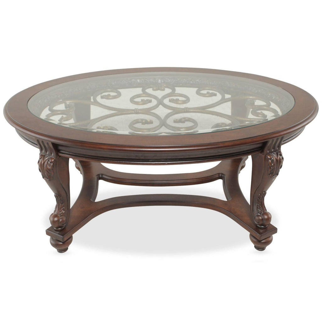 Norcastle Coffee Table, Occasional Tables, Ashley Furniture - Adams Furniture