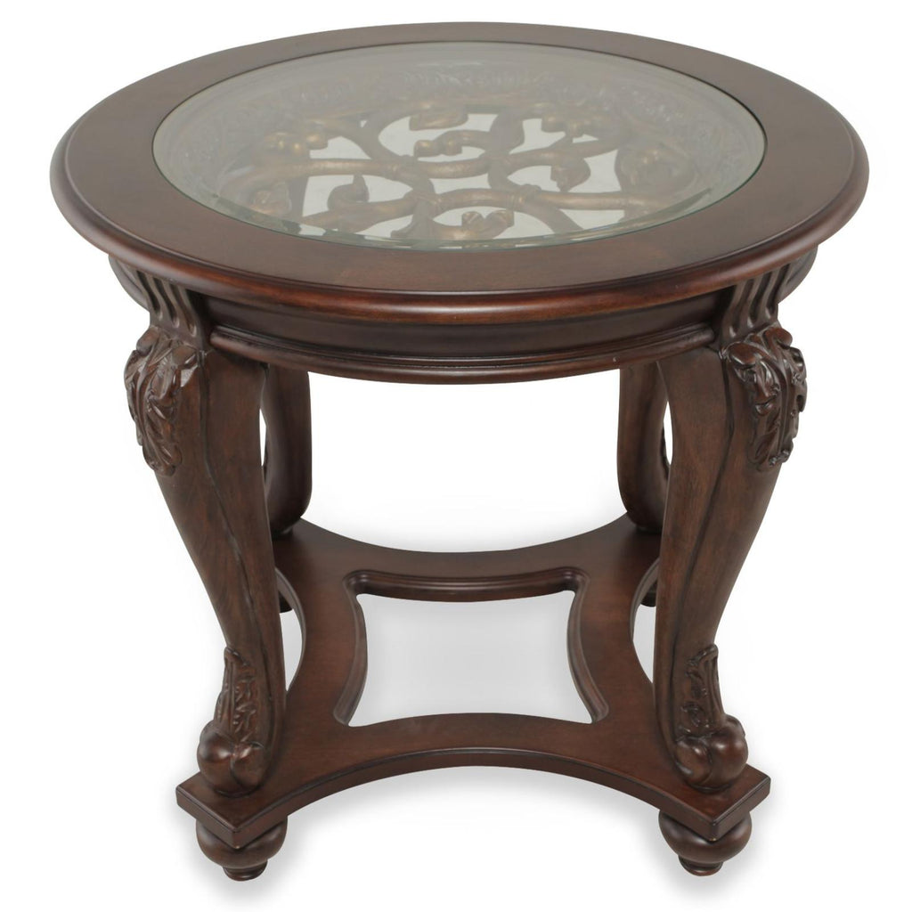 Norcastle End Table, Occasional Tables, Ashley Furniture - Adams Furniture