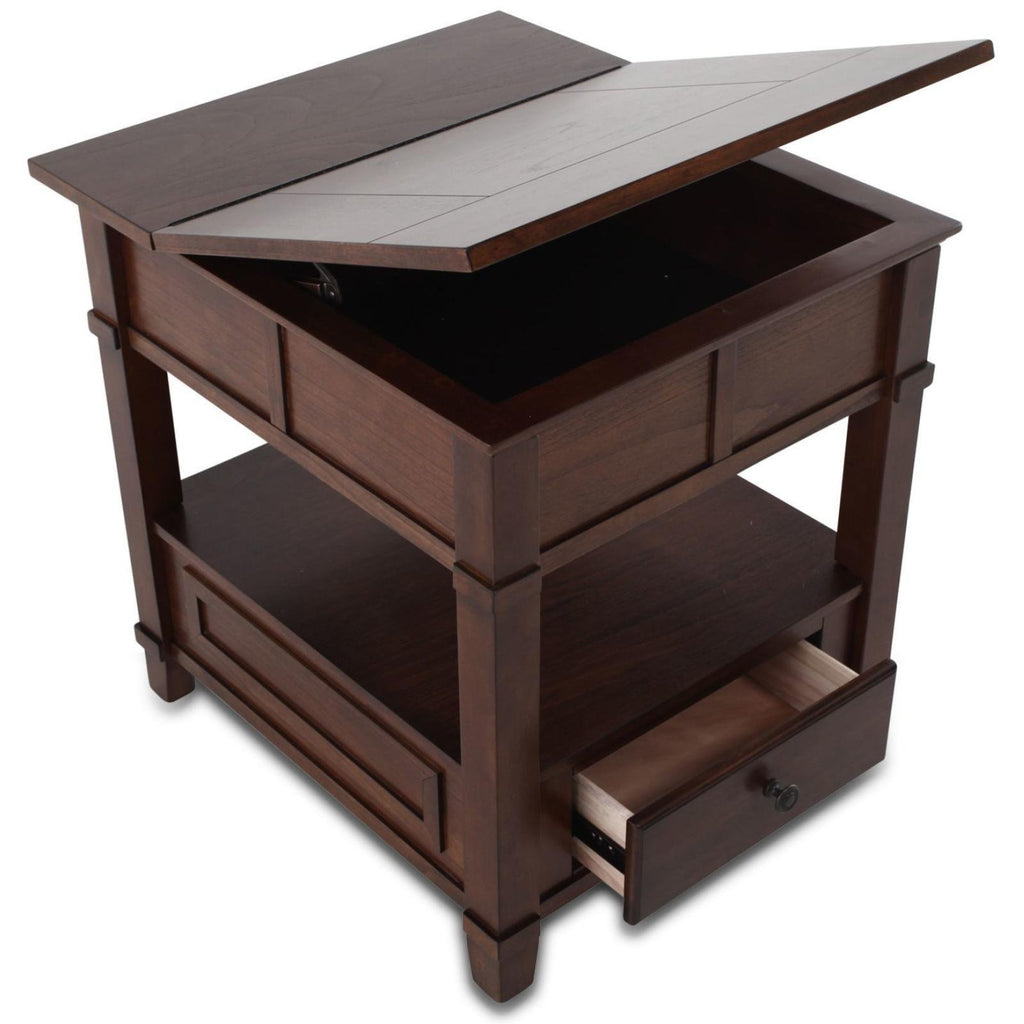 Gately Lift-Up End Table, Occasional Tables - Adams Furniture