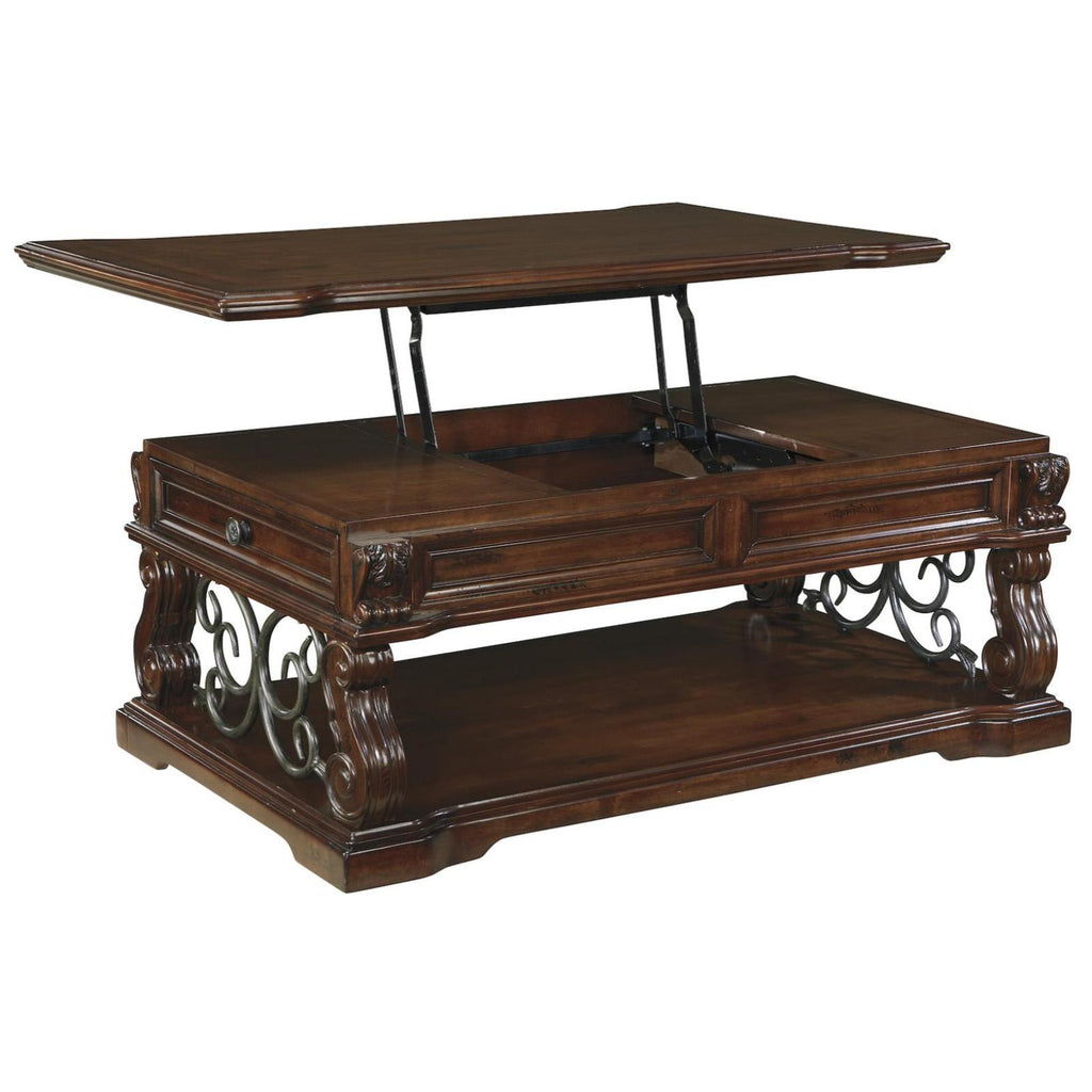 Alymere Lift Top Coffee Table, Occasional Tables - Adams Furniture