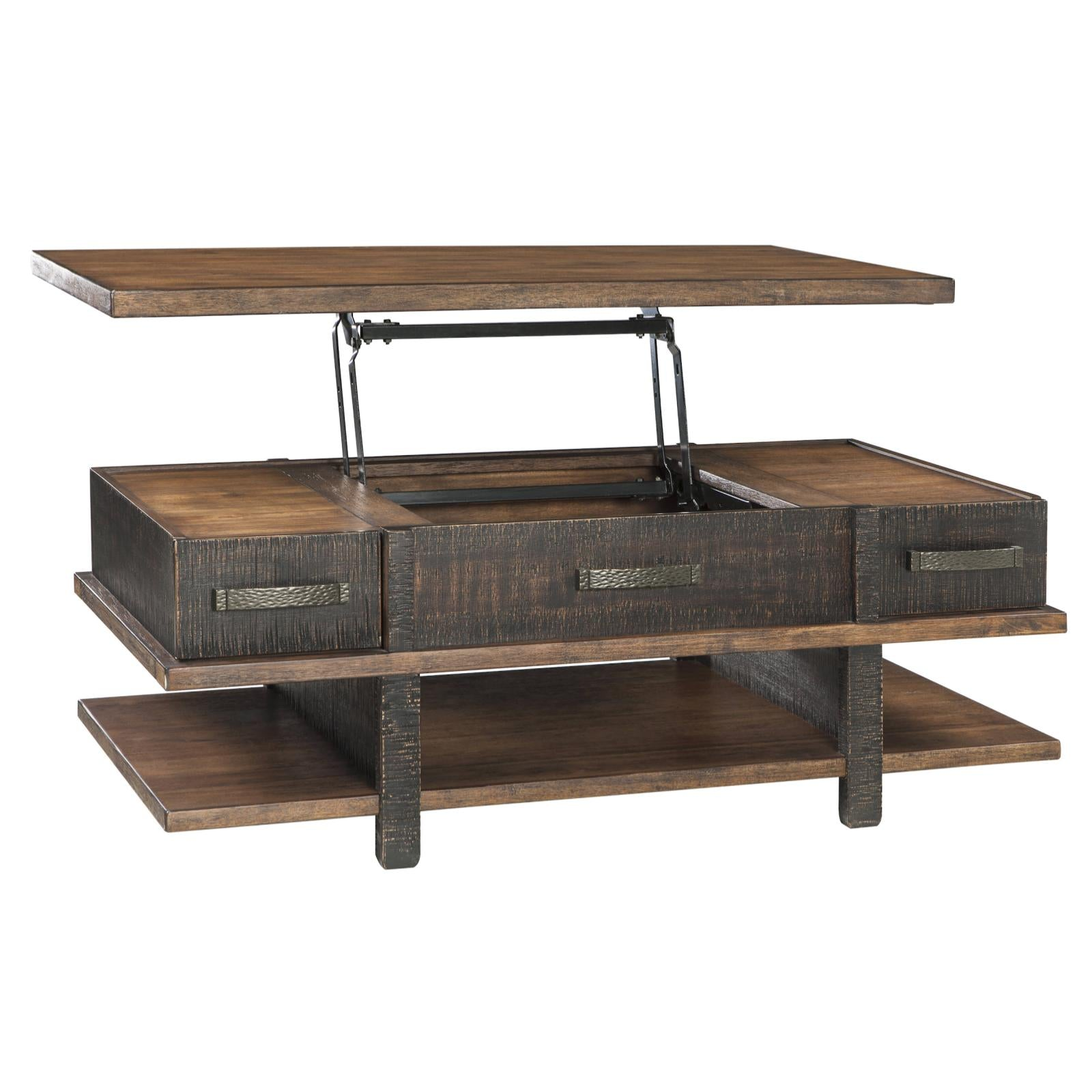 Stanah Lift Top Coffee Table, Occasional Tables, Ashley Furniture   Adams  Furniture ...