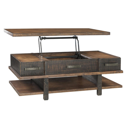 Stanah Lift Top Coffee Table, Occasional Tables, Ashley Furniture - Adams Furniture