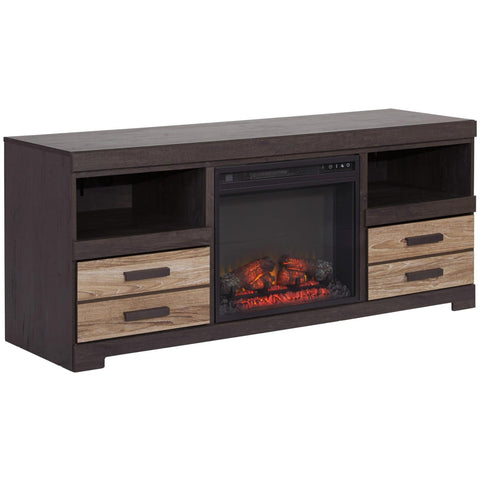 Harlinton Fireplace TV Stand, TV Stand, Ashley Furniture - Adams Furniture