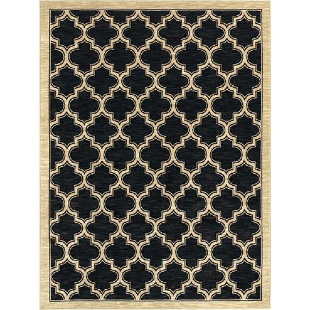 Yazd - Black Area Rug, Rug, Dynamic Rugs - Adams Furniture