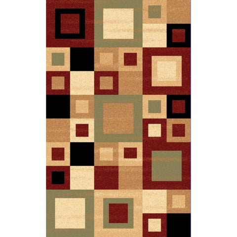 Yazd - Multi Color Area Rug, Rug, Dynamic Rugs - Adams Furniture
