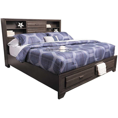 Shelby Storage Bed, Bed, LIFESTYLE - Adams Furniture