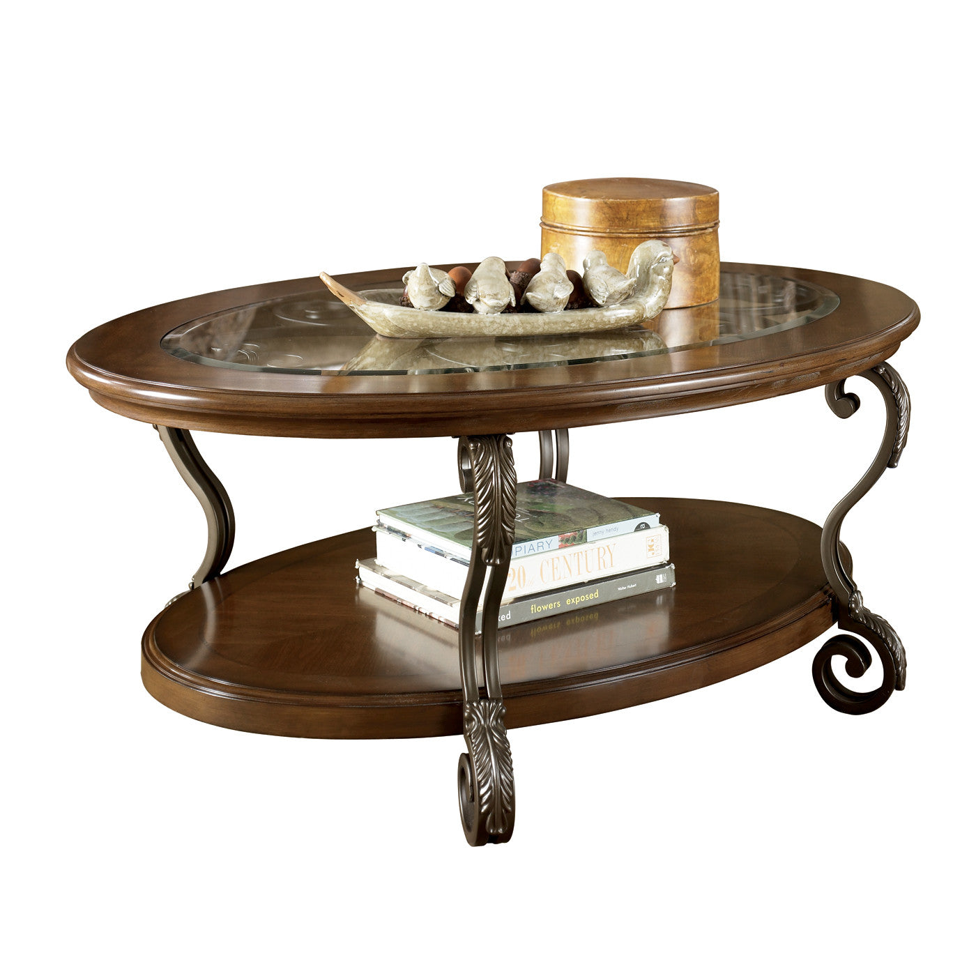 T517 0 Ashley Furniture Nestor: Nestor Oval Coffee Table