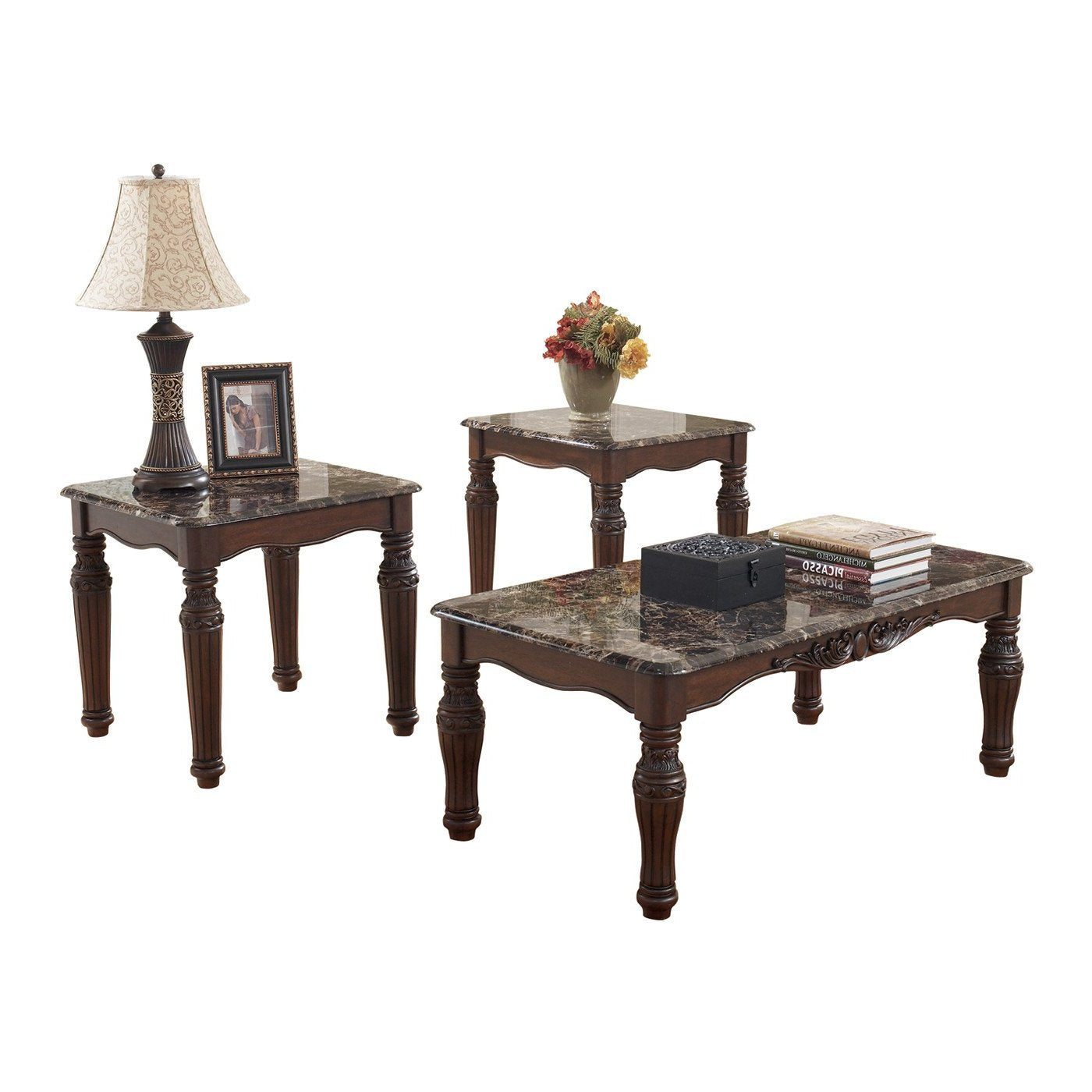 North Shore 3 Peice Occasional Tables