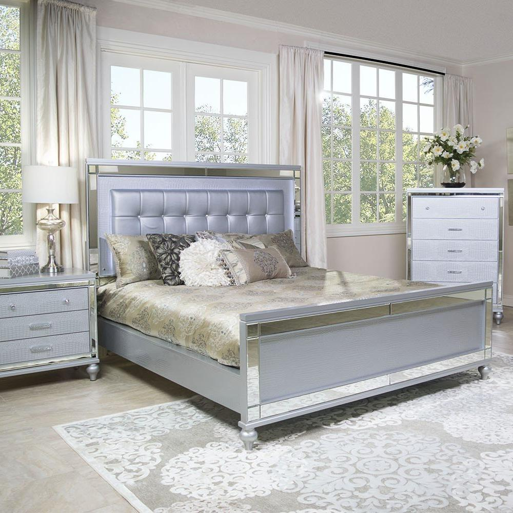Valentino Bedroom Set, Bedroom Set, New Classic Furniture - Adams Furniture