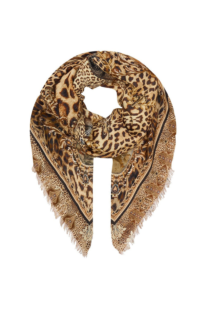 Eyelash Fringe Scarf - Lady Lodge