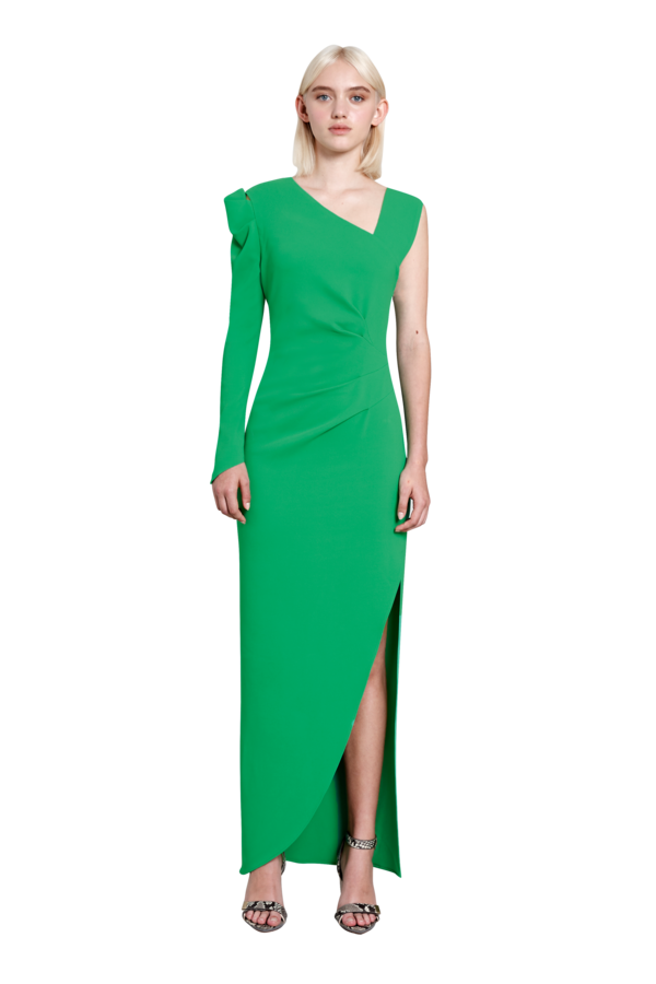 Vortex Gown - Neon Green