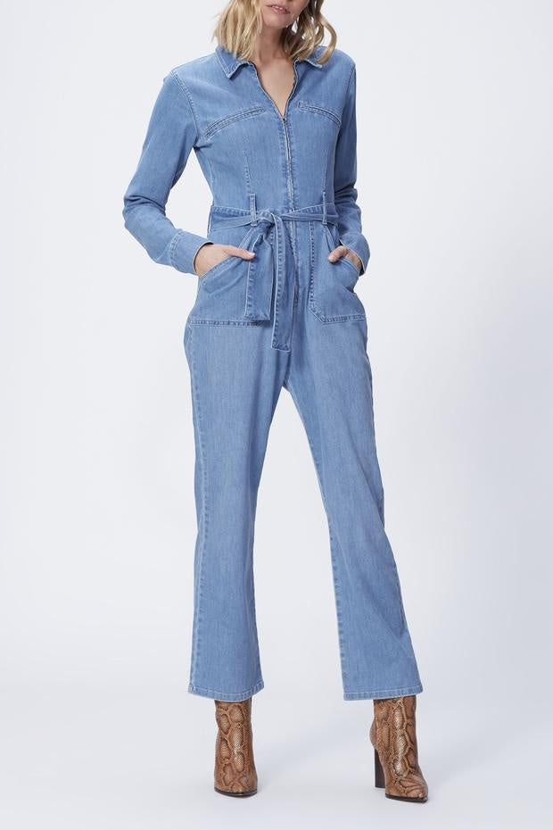 Jett Zip Up Utility Jumpsuit - Jameson