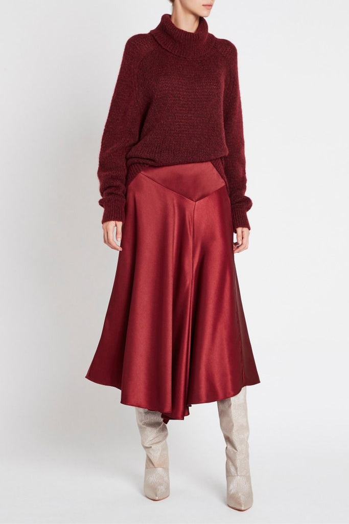 Caress Skirt - Cherry