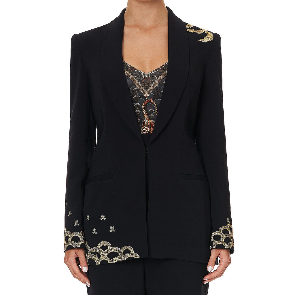 Tailored Mid Length Jacket - Wise Wings