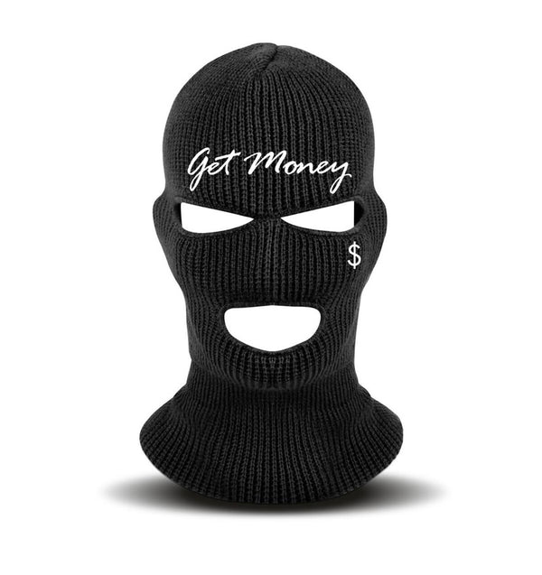 Hustle Daily Ski Mask (Black)