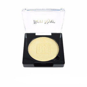 alt Ben Nye Lumiere Grand Colour Pressed Eye Shadow Iced Gold (LU-2)