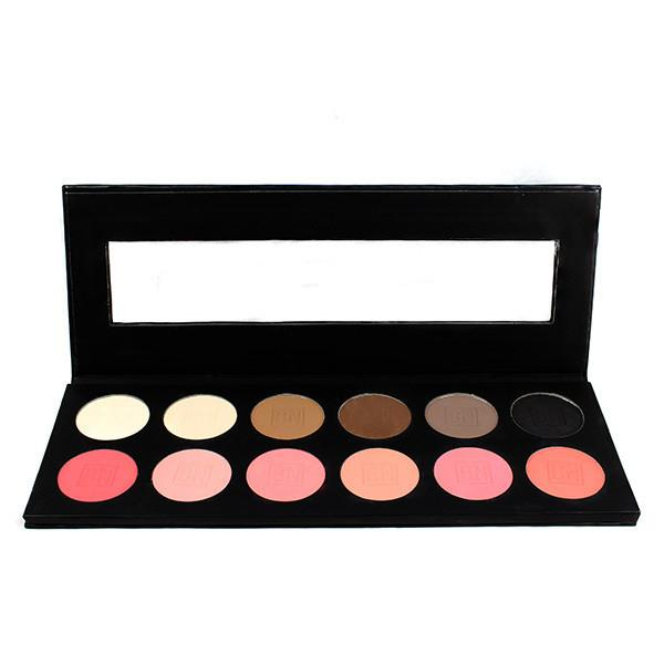 alt Ben Nye 12-Color  Eye Shadow and Rouge Palette