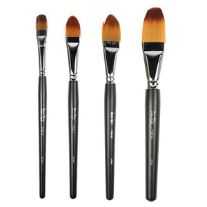 alt Ben Nye Makeup Brush - Foundation & Contour