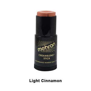 alt Mehron CreamBlend Stick Light Cinnamon (400-28A) - Limited Availability