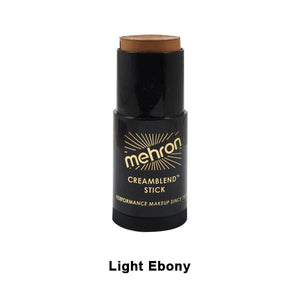 alt Mehron CreamBlend Stick Light Ebony (400-LE)