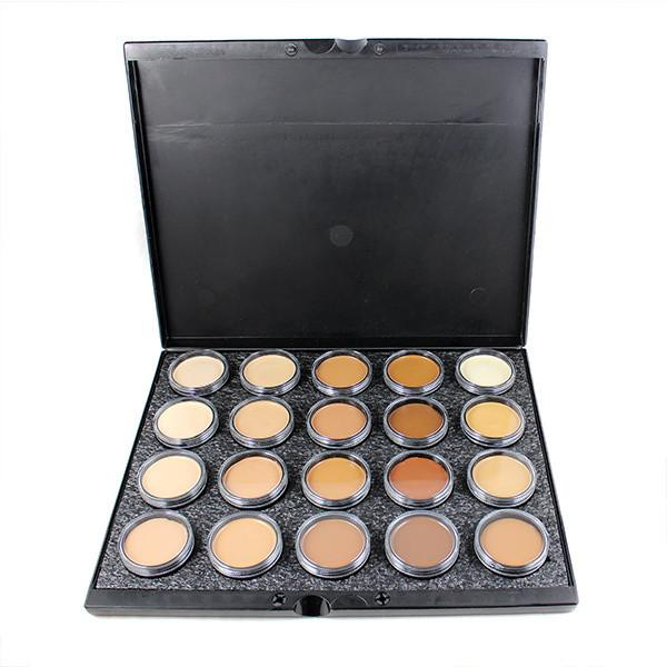 alt Mehron Celebre Pro-HD Makeup 20-Color Palette (large full sized) - Palette A- 201