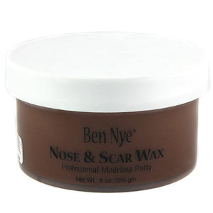 alt Ben Nye Nose & Scar Wax Brown 8oz (BW-3)
