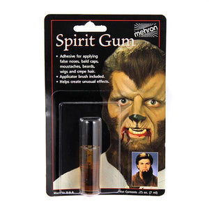 alt Mehron Spirit Gum Liquid Adhesive 0.125oz. w/brush (118AC)
