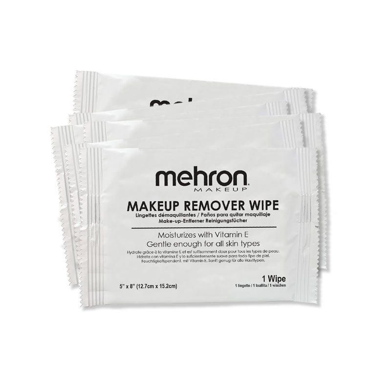 Mehron Makeup Remover Cloth - 6 Pack