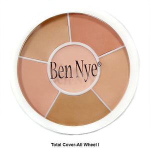 alt Ben Nye Total Conceal-All and Cover-All Wheel Total Coverall Wheel 1 (SK-100)