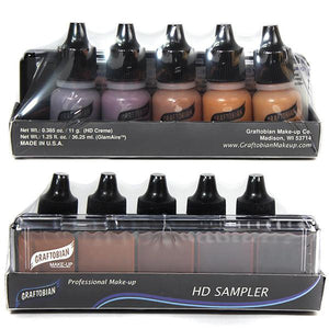alt Graftobian HD Airbrush SAMPLE Packs Neutral#3 Sampler Pack (30600N3)
