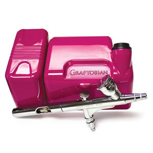 alt Graftobian Walk-Around Airbrush Package Hot Pink (20045GA-PK)