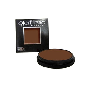 alt Mehron StarBlend Cake Makeup Medium Ebony (110-ME)