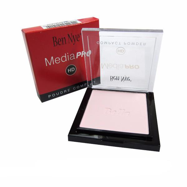 alt Ben Nye MediaPRO Bella Poudre Compact Powder - Full size compact Colorless (HDC-00)