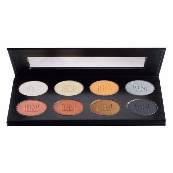alt Ben Nye Lumiere Metallic Shadow Palette 8-color