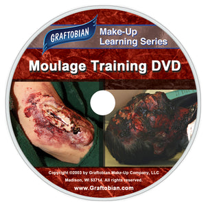 Graftobian Moulage EMS and Special Effects Training DVD
