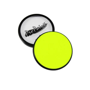 alt Graftobian ProPaints Neon - Electric Yellow - For Hair and Nails Only (77018)