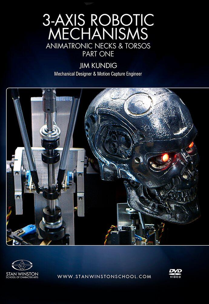 alt Stan Winston Studios | 3-Axis Robotic Mechanisms Animatronic Necks & Torsos Part 1