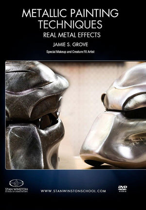 alt Stan Winston Studios | Metallic Painting Techniques - Real Metal Effects (Predator)