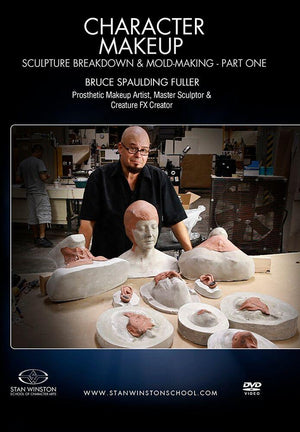 alt Stan Winston Studios | Character Makeup - Sculpture Breakdown & Molding Part 1