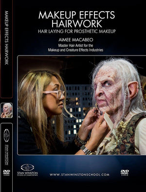 alt Stan Winston Studios | Character Hairwork - Hair Laying for Prosthetic Makeup