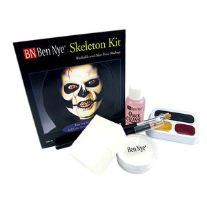 alt Ben Nye Skeleton Makeup Kit HK-4