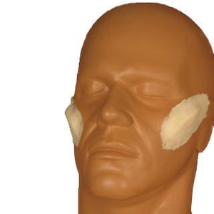 alt Rubber Wear Angular Cheekbones Foam Latex Prosthetic (FRW-077)