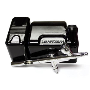 alt Graftobian Walk-Around Airbrush Package Black (20045GA-BK)