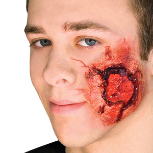 Woochie Latex Open Wound with Muscle Tissue Prosthetic