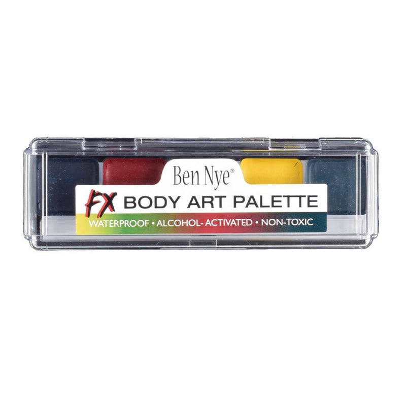 alt Ben Nye Alcohol Activated Body Art FX Palette (AAP-07)