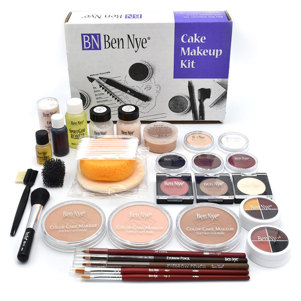 alt Ben Nye Theatrical Cake Kit Brown Complexions (TK-13)