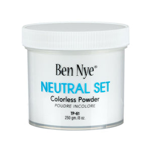 alt Ben Nye Neutral Set Colorless Face Powder 8.0 oz (TP-61)