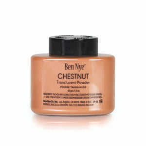 alt Ben Nye Chestnut Classic Translucent Face Powder 1.5 oz (TP-42)